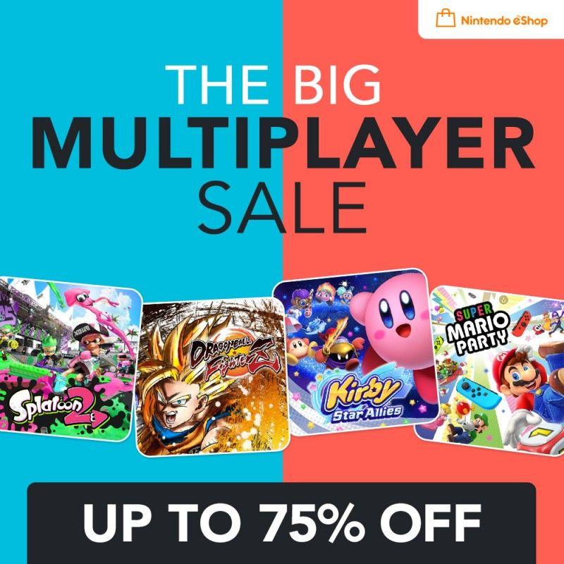 Nintendo Switch Multiplayer Sale e.g Mario Deluxe/Mario Tennis/Mario Party/Yoshi/Fire Emblem/Lego/Mario+Rabbids etc @ Nintendo eShop