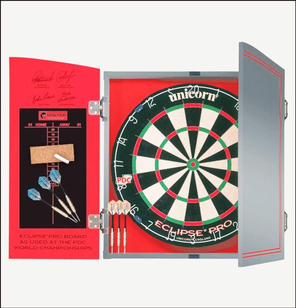 Unicorn World Championship Dartboard, Cabinet & 2 Darts Sets £48 Click & Collect / £3.95 delivery @ Argos