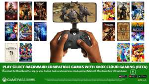 Xbox Game Pass Ultimate - Selected Backward Compatible Games Playable with Xbox Cloud Gaming (Beta)