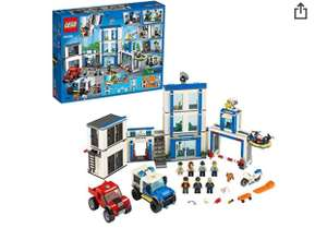 LEGO 60246 City Police Station Building Set with 2 Truck Toys £54.95 @ Amazon