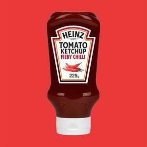 10 x Heinz Tomato Fiery Chilli Ketchup Sauce 255g Plastic Squeezy Bottles (Best Before April 2022) - £5 delivered @ Yankee Bundles