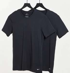 2 Pack Nike base layer T shirts now £16.15 with code Black or White Delivery is £4 or Free with pass / £35 spend @ ASOS