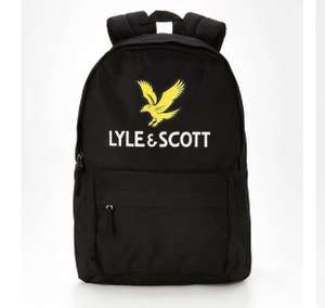 Lyle & Scott Eagle Backpack - Black - £11 (+£3.99 Delivery) @ Very