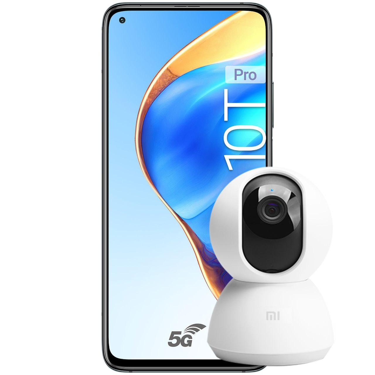 Xiaomi Mi 10T Pro 256GB / 8GB (Black, 5000mAh, Snapdragon 865) + Mi Home Security Camera 1080p - £359 using check-in coupon @ Xiaomi UK