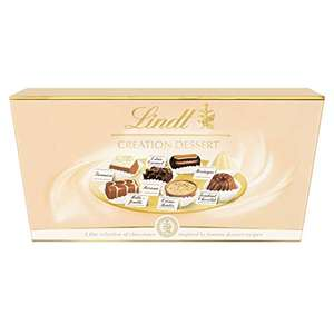 Lindt Creation Dessert Ballotin Assorted Chocolate Box - 19 Pralines, 200 g - £6 or £5.10/£5.40 with S&S (+£4.49 Non-Prime) @ Amazon