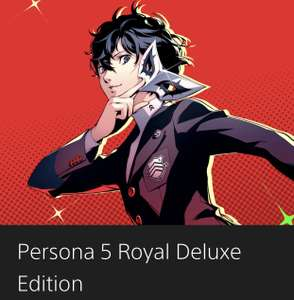 Persona 5 Royal Deluxe Edition (PS4) £22.32 @ PlayStation store (using £10 simplygames top up)