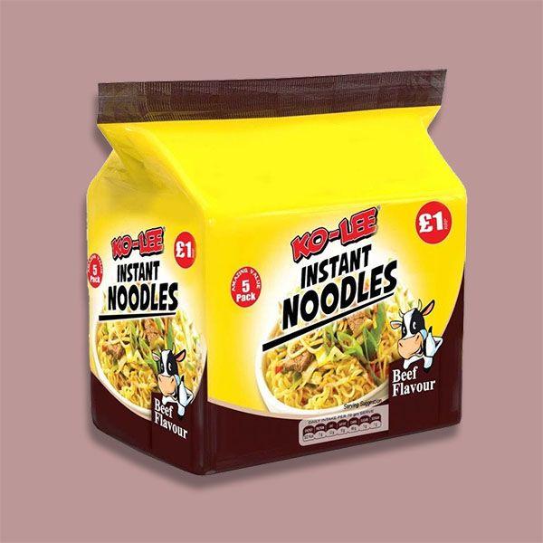 30 Ko-Lee Instant Beef Flavour Noodles (Best Before 25/01/22) £6 Yankee Bundles