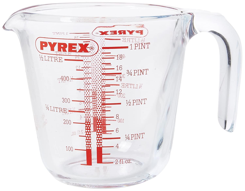 Pyrex P586 Pyrex Measuring Jug 500 ml - £4.50 prime / £8.99 nonPrime at Amazon