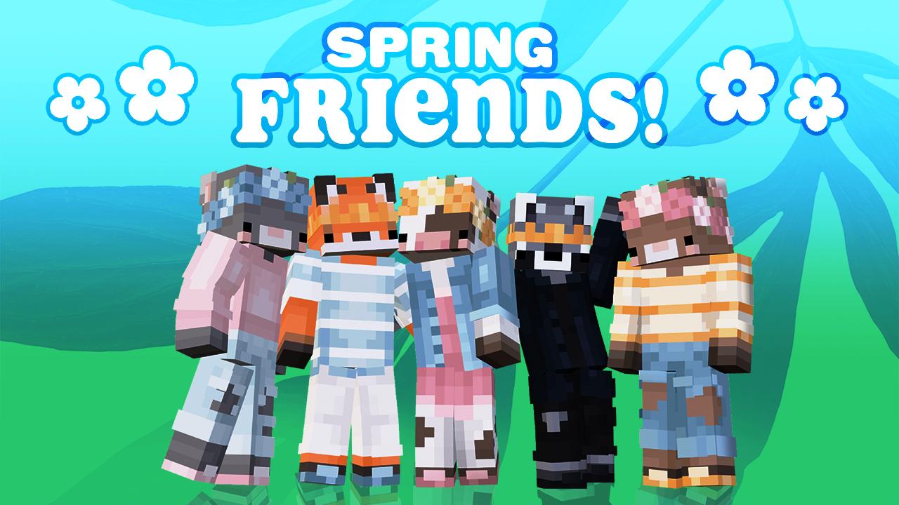 Minecraft Spring Friendsskins for free at Minecraft.net