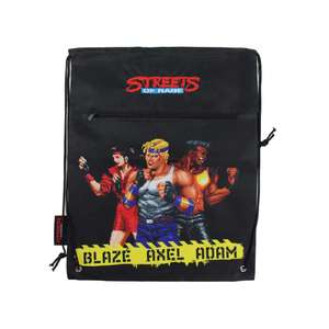OFFICIAL STREETS OF RAGE CHARACTER DRAWSTRING BAG £4.99 delivered at Sega Store
