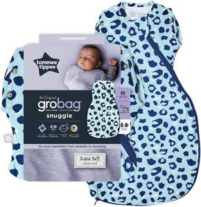 Tommee Tippee The Original Grobag Snuggle 3-9 months 0.2 tog £9.85 prime / £14.33 nonprime at Amazon