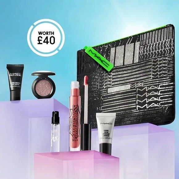 FREE 5 Piece MAC Bundle worth £40 on £55+ Spend @ MAC