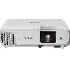 Epson EH-TW740 3LCD, Full HD 1080p, 3300 Lumens, 386 Inch Display, Up to 18 years Lamp Life, Home Cinema Projector - White £479.99 at Amazon