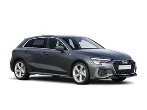 Audi A3 Sportback 35 TFSI S line 5dr S Tronic 5k miles initial payment £772.71 + 23 months £257.57 Total £6696.82 @ Leasing.com