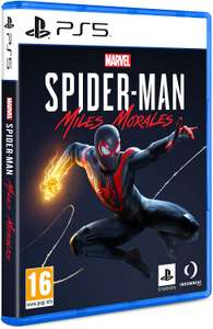 PS5 - Marvel's SpiderMan: Miles Morales For Playstation - GRADE A Like New £30.40 at SMG