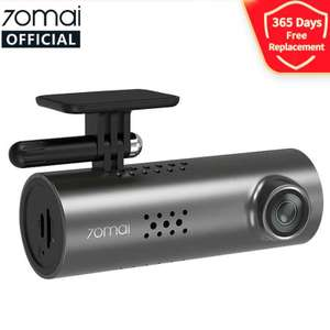 70mai Smart Dash Cam 1S with 1080p camera 130º wide angle and night vision for £31.79 delivered using code @ AliExpress / 70Mai Official