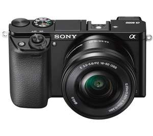SONY a6000 Mirrorless Camera with 16-50 mm f/3.5-5.6 Lens £479 Currys PC World
