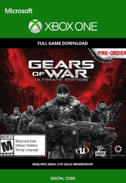 Gears of War: Ultimate Edition Xbox One - Digital Download £2.99 CD Keys