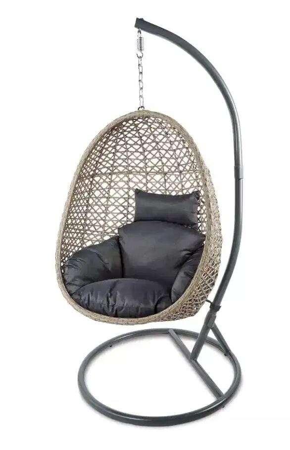 Rattan Hanging Egg Chair- £155.94 delivered @ Aldi