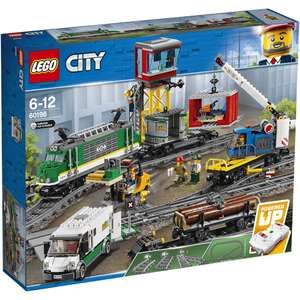 Lego city 60198 cargo train rc battery powered set £102.99 with code from IWOOT