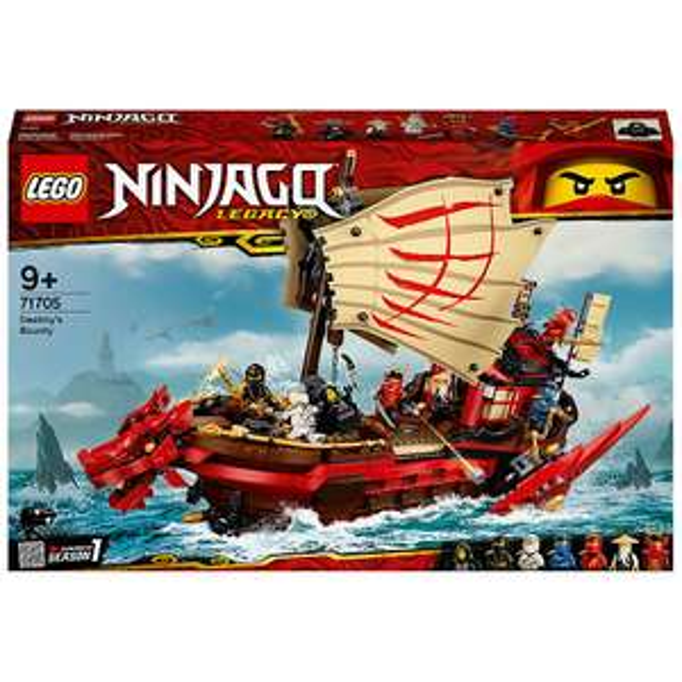 LEGO NINJAGO: Legacy Destiny's Bounty Ship Set (71705) £63.99 At IWOOT