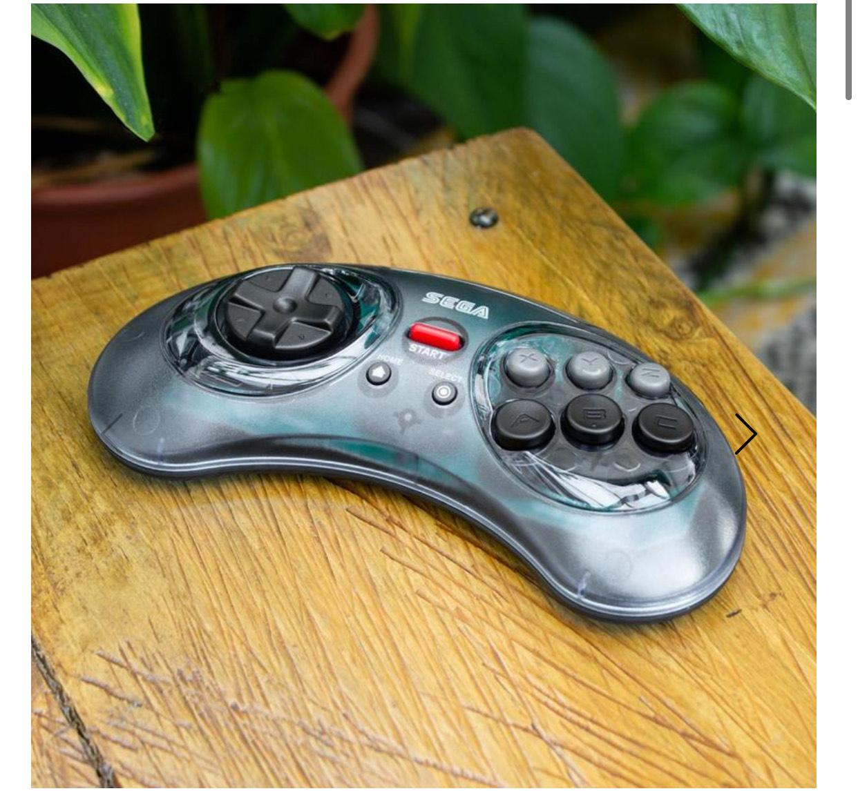 RETRO-BIT Sega Mega Drive 2.4G Wireless Blue Controller £24.99 + £2 del at Sega Shop UK