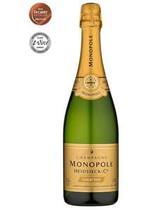 6 Bottles Monopole Gold Label 2011 Champagne £137.94 @ Majestic
