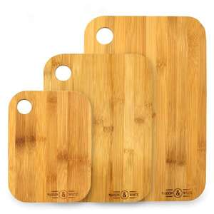 Roov Lightning Deals - Bamboo Serving Trays for £11.94, 3 bamboo chopping boards for £7.94, long hot water bottle for £8.94 delivered @ Roov