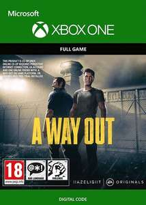 A Way Out [Xbox One / Series X/S - Argentina via VPN] £2.78 using code @ Eneba / All For Gamers
