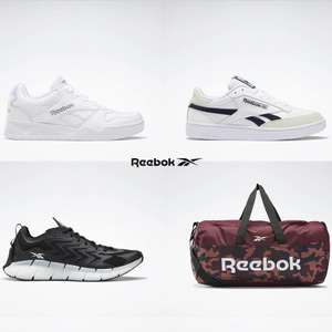 Up to 50% Off Reebok Sale + Extra 20% Off using code + Free Delivery on £30 spend @ Reebok