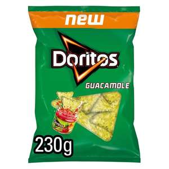 9 X Doritos Corn Chips Guacamole Flavour Big 230g Share Bag (Best Before 25/04/21) £6 @ Yankee Bundles