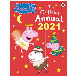 Peppa Pig The Official Annual 2021 99p (Click and Collect only) @ Smyths Toys