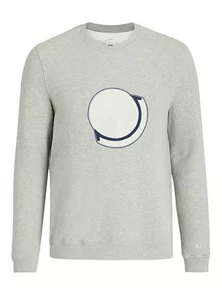 It's All Good Folk Organic Cotton Sweatshirt, Grey - £28.50 @ John Lewis & Partners