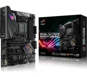 ASUS ROG STRIX B450-F GAMING AM4 Motherboard, £88.31 with code at Currys/ebay