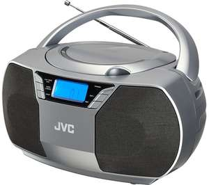 JVC RD-D228H FM Boombox - Grey £35.97 with code delivered @ Currys PC World