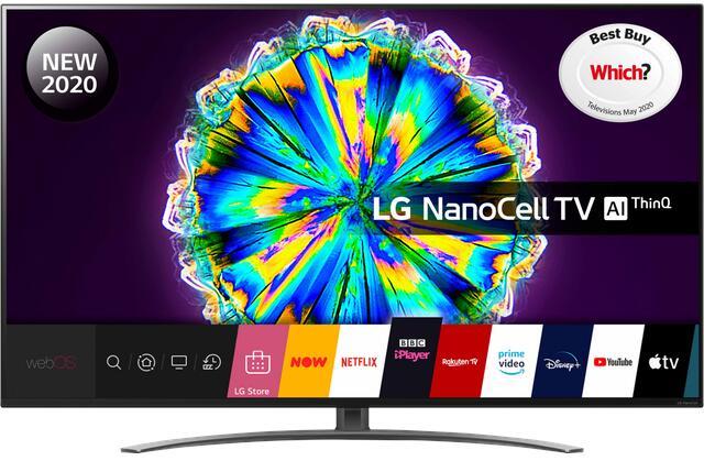 """LG 65NANO866NA (2020) LED HDR NanoCell 4K Ultra HD Smart TV, 65"""" +5 year warranty - £768.99 or LG 55NANO866NA £628.98 @ Costco"""