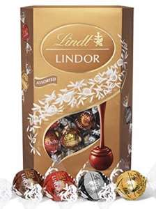 Lindt Lindor Assorted Chocolate Truffles Box 600g - £9.79 Prime / £7.83 with first S&S / +£4.49 non Prime @ Amazon