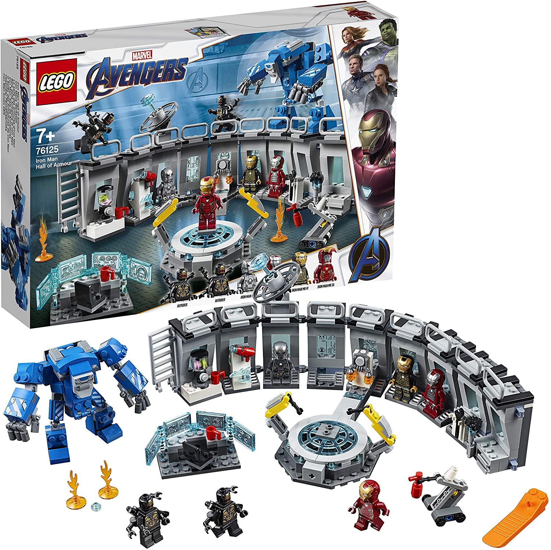 LEGO Marvel Avengers 76125 Super Heroes Iron Man Hall of Armor £41.56 (UK Mainland) Sold by Amazon EU @ Amazon