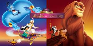 Switch Game: Aladdin and The Lion King - £7.19 at Nintendo eShop