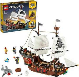 LEGO Creator 31109 3in1 Pirate Ship £57.95 delivered at velocityelectronics eBay