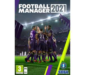 Football Manager 2021 (PC/Mac) - £19.99 @ Currys PC World