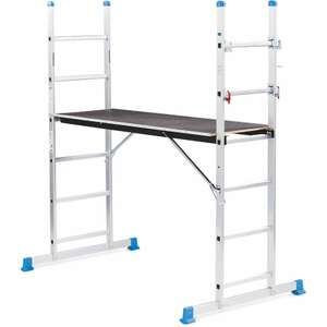 3-in-1 Scaffold And Ladders £69.99 + £9.95 delivery with 3 year warranty - order online from 4th April @ Aldi