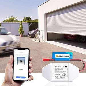Meross Smart Garage Door Opener Remote - Works with Apple HomeKit, Alexa, Google Assistant - £28.99 with code Sold by Meross Home EU/Amazon