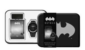 Batman Tin with Eau de Toilette & Watch Gift Set £10 + £1.50 click & collect / £3.50 delivery at Boots