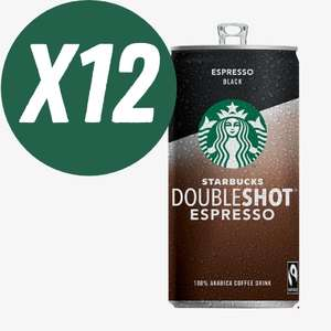 12 x Starbucks Doubleshot Espresso 200ml Cans £10 (£3.25 delivery fee or free when you spend over £25) @ Food Circle Supermarket