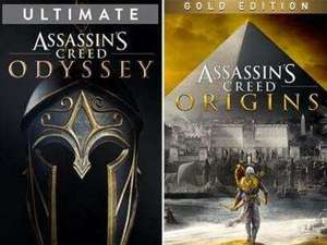 Assassin's Creed Odyssey Ultimate - £9.46 & Assassin's Creed Origins Gold - £7.57 on Xbox One & Series @ Microsoft Store Brazil
