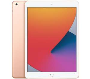 "APPLE 10.2"" iPad (2020) - 128 GB, Gold (+ Up To 5 Months Apple Music) - £394 with code @ Currys PC World"