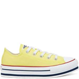 Older Kids Everyday Ease Platform Converse Chuck Taylor All Star Low Tops now £21.24 / £26.74 delivered (UK Mainland) @ Converse
