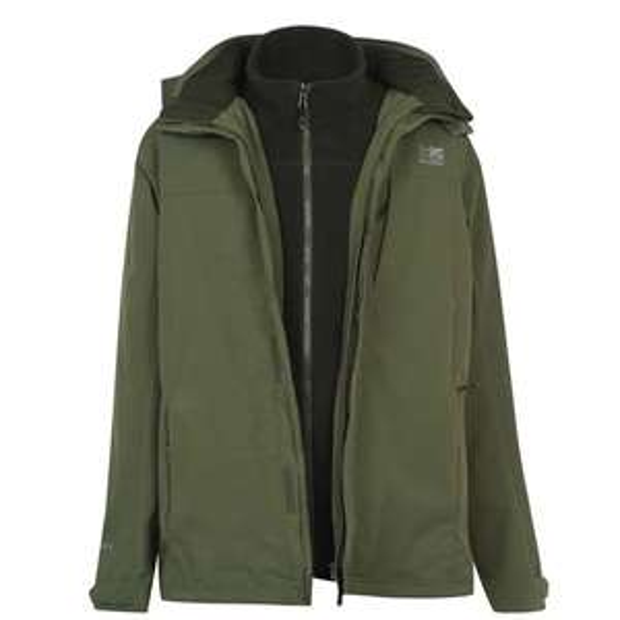 KARRIMOR 3 in 1 Weathertite Jacket Mens £31.50 (+£4.99 delivery) @ Sports Direct