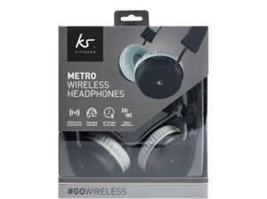 KitSound Metro Wireless On-Ear Bluetooth Headphones 'Grade A - As new' £10.40 with code delivered @ SMG